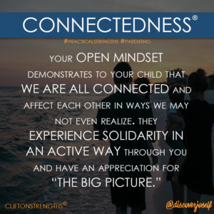 Connectedness, Parenting, Strengths