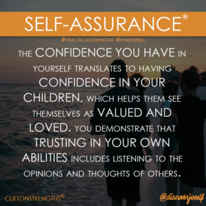 Self-Assurance, Parenting, Strengths